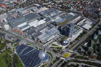 BMW Plant Munich, Start of Production BMW 3-Series, Aerial View (10/2011)