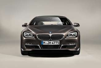 The new BMW 650i Coupe, Exterior: BMW Individual matt finish Frozen Bronze metallic (12/2011).