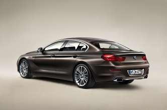 Das neue BMW 650i Gran Coupé, Exterieur: BMW Individual Mattlackierung Frozen Bronze metallic (12/2011).