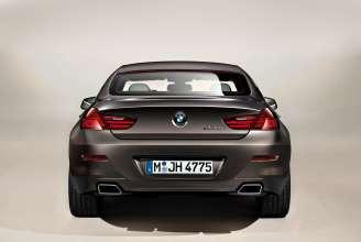 The new BMW 650i Gran Coupe, Exterior: BMW Individual matt finish Frozen Bronze metallic (12/2011).
