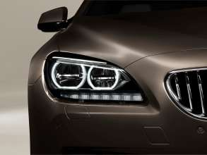 The new BMW 650i Gran Coupe, Exterior: Adaptive LED Headlights, Lights off (12/2011).
