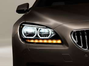The new BMW 650i Gran Coupe, Exterior: Adaptive LED Headlights, daytime running lights, LED direction indicator (12/2011).