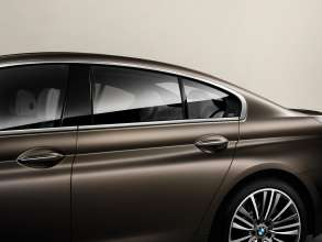 The new BMW 650i Gran Coupe, Exterior: Chrome Line, BMW Individual matt finish Frozen Bronze metallic (12/2011).