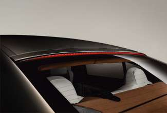 The new BMW 650i Gran Coupe, Exterior: 3rd brake light, light on (12/2011).