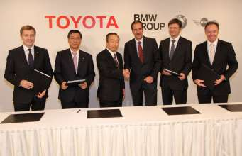 Press Conference BMW Group, Toyota Motor Corporation and Toyota Motor Europe: