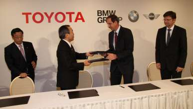 Joint Press Conference BMW Group, Toyota Motor Corporation and Toyota Motor Europe: