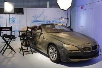 """Mission:Impossible - Phantom Protokoll"": Das Movie Car BMW 6er Cabrio. (12/2011)"