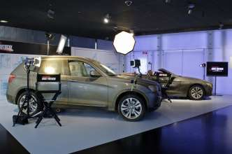 """Mission:Impossible - Phantom Protokoll"": Die Movie Cars BMW 6er Cabrio und BMW X3. (12/2011)"
