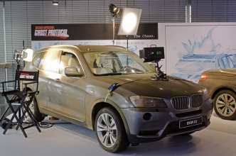 """Mission:Impossible - Phantom Protokoll"": Das Movie Car BMW X3. (12/2011)"