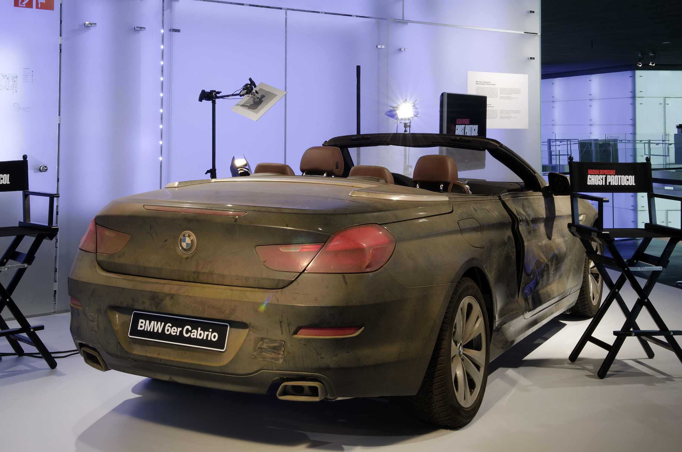 Mission Impossible Ghost Protocol Car