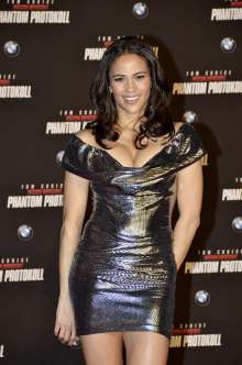 "Europapremiere ""Mission:Impossible - Phantom Protokoll"": Paula Patton auf dem roten Teppich in der BMW Welt. (12/2011)"