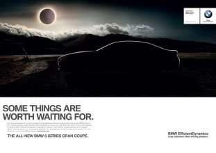 Printkampagne: Das neue BMW 6er Gran Coupé (12/2011).