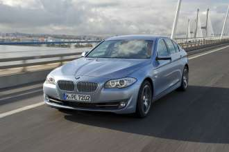 The BMW ActiveHybrid 5. (01/2012)