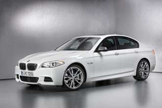 The BMW M550d xDrive. (01/2012)