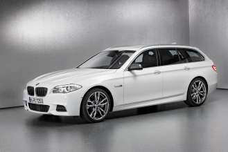 The BMW M550d xDrive Touring. (01/2012)