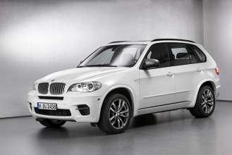 The BMW X5 M50d. (01/2012)