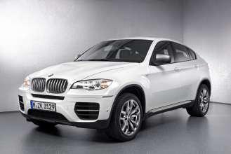 The BMW X6 M50d. (01/2012)