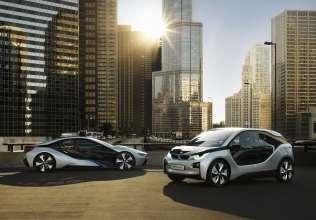 BMW i3 Concept & BMW i8 Concept (01/2012)