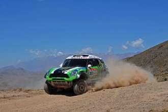 Stephane Peterhansel Dakar 2012 (source Monster Energy X-Raid team) (01/2012)