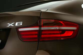 The new BMW X6, Rearlight with LED-Technology. (01/2012)