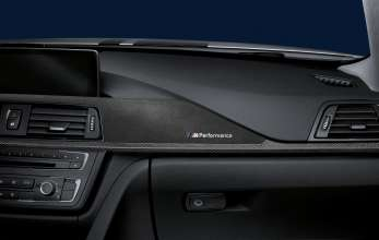 BMW 3 Series Sedan, BMW M Performance carbon fiber and alcantara interior trim (02/2012)