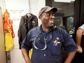 Mitarbeiter im BMW Werk Spartanburg. (02/2012)