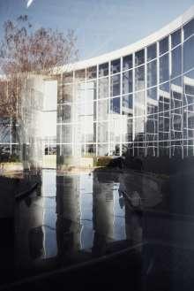 BMW Werk Spartanburg Glasfront. (02/2012)