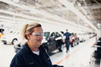 Endfertigung im BMW Werk Spartanburg. (02/2012)