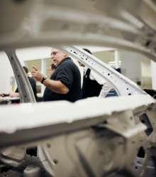 Testlabor im BMW Werk Spartanburg. (02/2012)