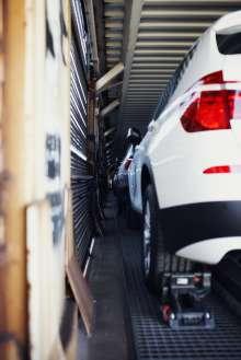 Transportzug im BMW Werk Spartanburg. (02/2012)