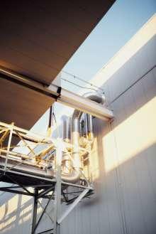Leitungssystem im BMW Werk Spartanburg. (02/2012)