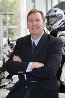 Hans Blesse, new Vice President BMW Motorrad USA (02/2012)