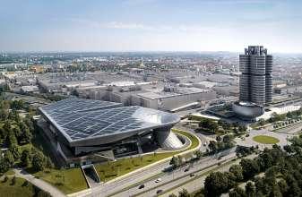 BMW Welt, BMW Museum, BMW Werk München. (02/2012)
