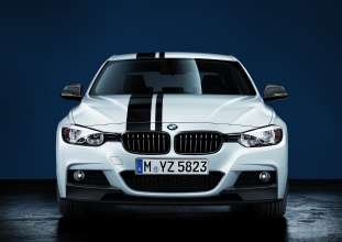 3 Series with BMW M Performance Parts carbon fiber splitters. (02/2012)