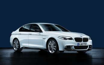 5 Series with BMW M Performance Parts. (02/2012)