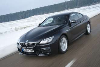 BMW 640d xDrive Coupe. Exterior. (02/2012)