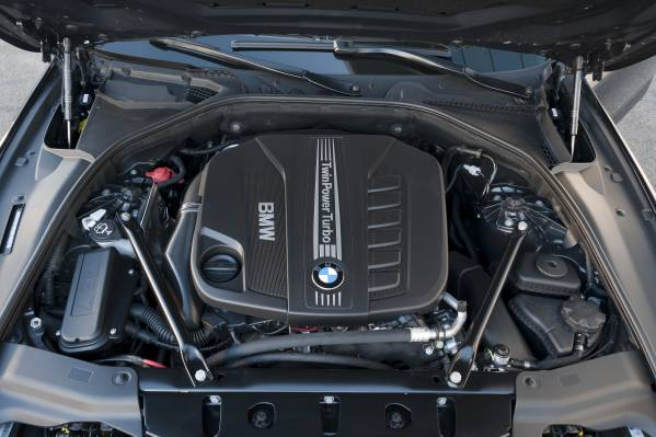 BMW 640d xDrive Coupe. Engine. (02/2012)