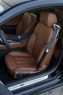 BMW 640d xDrive Coupe. Interior. (02/2012)