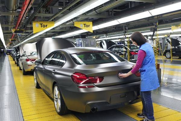BMW Plant Dingolfing, Assembly BMW 6 Series Gran Coupe, Finish (03/12)
