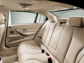 The new BMW 3 Series sedan long wheelbase version, Improved comfort rear seats (04/2012)