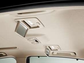 The new BMW 3 Series sedan long wheelbase version, Make-up mirrors in the rear (04/2012)