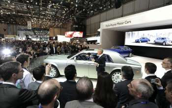 ROLLS-ROYCE PHANTOM SERIES II WORLD LAUNCH, GENEVA 2012