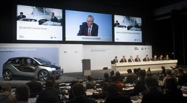 BMW Group Annual Accounts Press Conference in Munich on 13 March 2012 (03/2012)