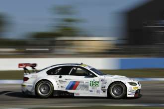 14.03.2012 - 17.03.2012, Sebring (USA), Jörg Müller (DEU), Bill Auberlen (USA), Uwe Alzen (DEU), No 155, BMW Team RLL, BMW E92 M3, American Le Mans Series, Twelve Hours of Sebring. This image is Copyright free for editorial use © BMW AG