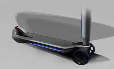 BMW i8 Concept Spyder, E-Kickboard (04/2012)