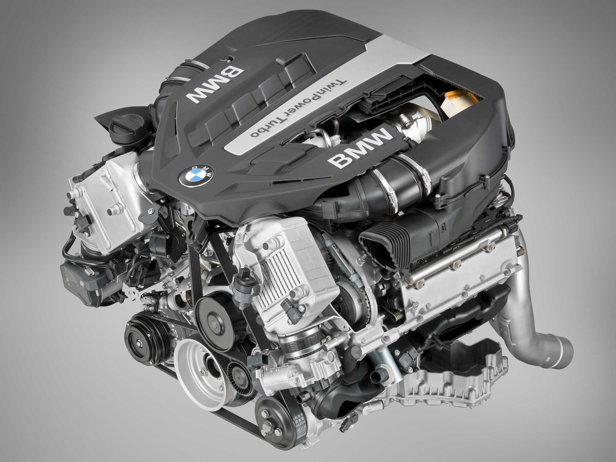 Bmw Twinpower Turbo V8 Cylinder Petrol Engine 04 2012