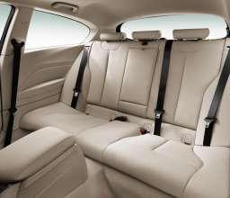 The new BMW 1 Series 3 Door Hatch, three rear seats (05/2012)