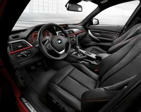 BMW 3 Series Touring - Interior, Dakota leather Black  (05/2012