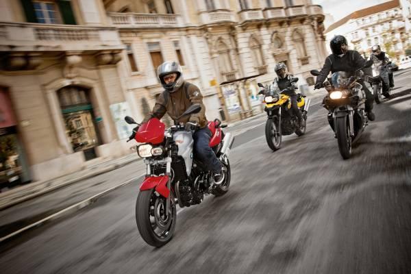 """BMW Motorrad bei der """"Fahr 2Rad 2012"""" in Wien. (04/2012)"""