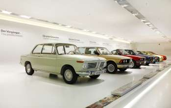 Exhibition room BMW 3 Series.